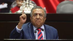 Presentan solicitud de desafuero del diputado Saúl Huerta