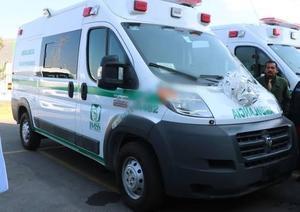 Reciben nuevas ambulancias las clínicas rurales de Coahuila del programa IMSS Bienestar