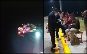 Rescatan a cinco náufragos en costas de Veracruz