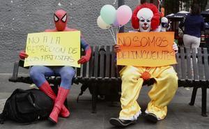 Botargas protestan en CDMX; piden volver a trabajar en las calles