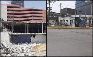 Destruyen memorial de víctimas de incendio del Casino Royale