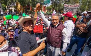 Tras perder candidatura, designan a Salgado y a Morón como dirigentes estatales de Morena