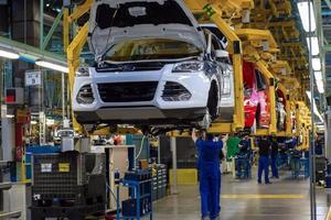 Planta de Ford en sonora parará operaciones por desabasto de materiales