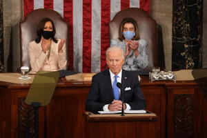 Biden ofrece primer discurso ante el Congreso; promete mayor crecimiento