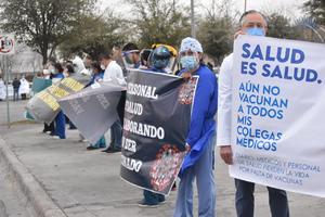 Llegan vacunas Covid para el personal de los hospitales particulares en Monclova