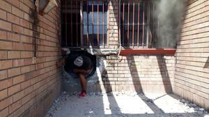 Se incendia casa en la Guadalupe de Monclova