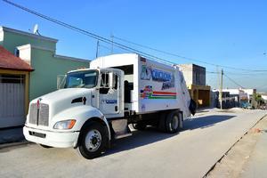 Llegan 11 camiones para la recolección de basura por boteo en Monclova
