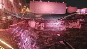 AMLO: Garantiza reparación y restauración de daños en Templo Mayor