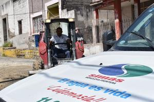 Sindicalizados del Simas en Monclova reclaman por revisión a Contrato