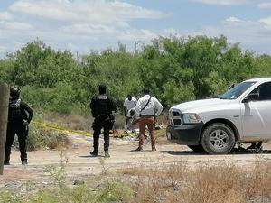 Localizan a un hombre sin vida, presuntamente fue ejecutado en la colonia 23 de Abril de Monclova