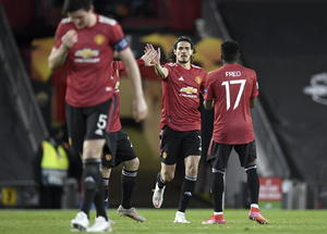Manchester United golea al Roma en ida de la semifinal de Europa League
