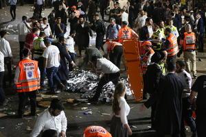 VIDEO: Estampida humana deja 38 muertos durante festividad religiosa en Israel