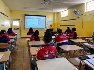 Colegios particulares piden clases híbridas