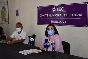 Solo 6 de los 9 candidatos en Monclova confirmaron su participación en el debate: IEC