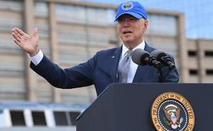 Biden cancela proyectos de muro fronterizo con México