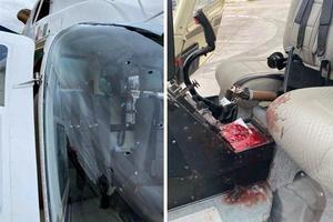 Atacan a balazos  helicóptero de Fuerza  Civil, en Nuevo León