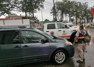 Lluvias en Veracruz dejan deslaves, inundaciones y derrumbes