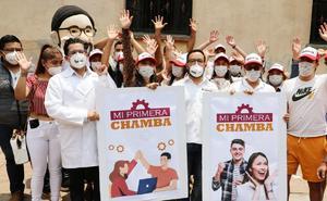 Romo promete empleo para 35 mil jóvenes de Miguel Hidalgo