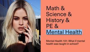 Selena Gomez: Anuncia una campaña de salud mental