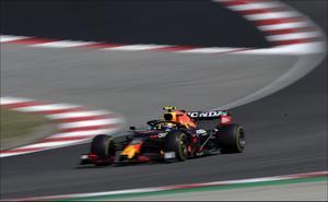 'Checo' Pérez fue nombrado piloto del día en Gran Premio de Portugal