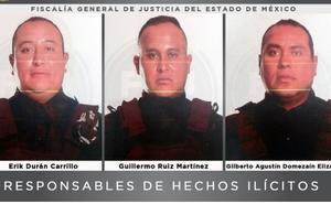 Dictan 56 años de cárcel a 3 policías por secuestro exprés en Edomex
