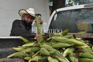 Con venta de elotes y verduras en San Buenaventura, le alcanza para vivir durante 22 años