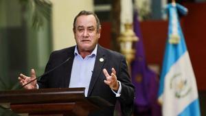 Presidente de Guatemala inicia el día de hoy gira de 2 días en México