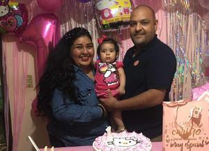 Cristina Daniel celebra su primer añito de vida