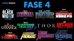 Marvel: Anuncia fechas de estreno de películas de la fase 4