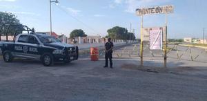 Abrirán Panteón Municipal El Refugio en San Buenaventura