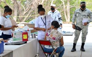 Oaxaca rompe récord nacional de número de vacunas antiCovid-19