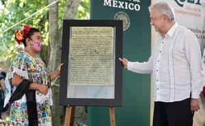 Pueblos mayas piden a AMLO plan de desarrollo para la región