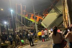 Colapsa metro en la cdmx,  hay 6 muertos y 50 heridos