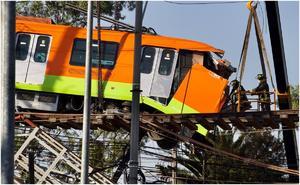 Carso esperará peritaje sobre accidente en Línea 12 del Metro
