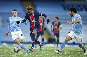 1-0 Gana el Manchester City al PSG al medio tiempo