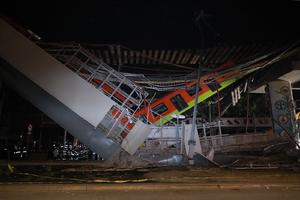 Bolivia se solidariza con México por el accidente en una línea de metro