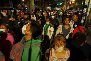 Guarda INE minuto de silencio por víctimas del accidente del Metro