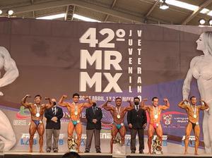 Destacan deportistas  locales en Mr, México