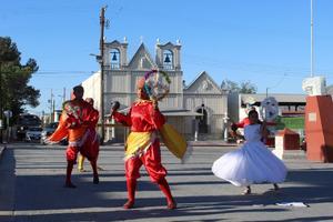 Disfrutan familias de la Matlachinada 2021 en Castaños