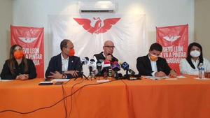 Movimiento Ciudadano exige a AMLO 'sacar las manos' de la elección en Nuevo León