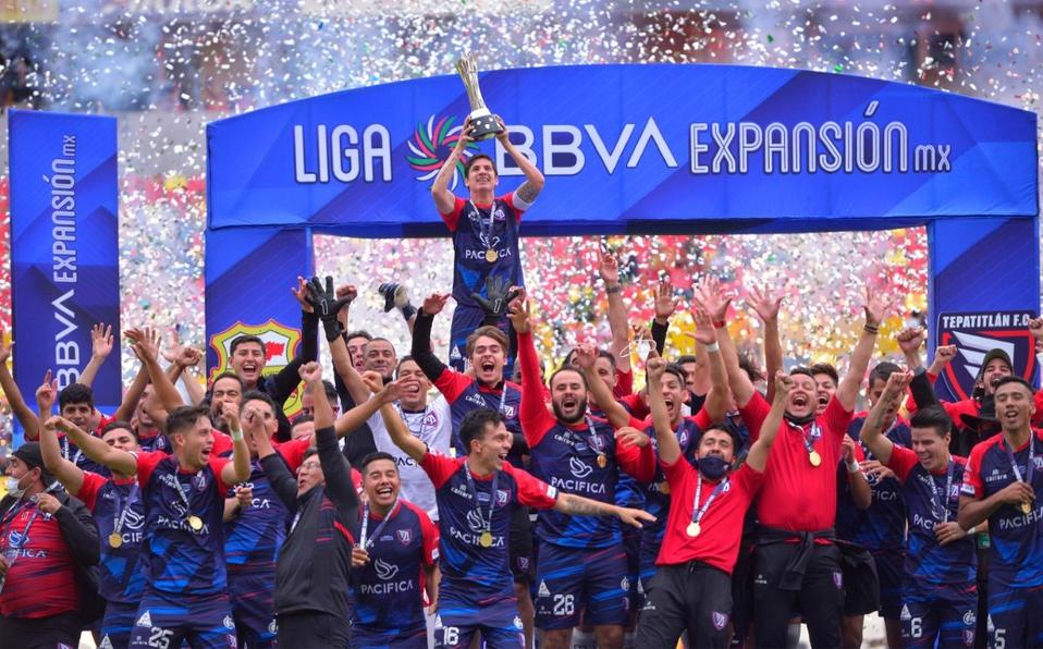 Tepatitlán, campeón de la Liga Expansión