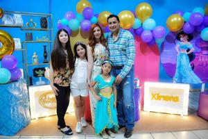 Ximena celebra su cumpleaños número 6