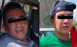 Detienen a dos colombianos y aseguran camioneta implicada en robo