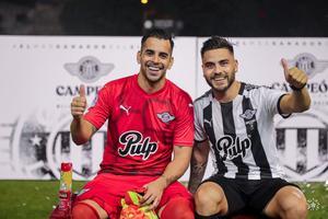 Libertad celebra con goles ante Luqueño su corona de campeón paraguayo