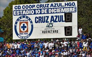Ciudad Cooperativa Cruz Azul, abandonada por el primer equipo