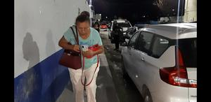 Jovencita ebria en Monclova,agrede a su abuela