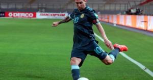 Lionel Messi: 'Estoy contento de estar con la selección otra vez'