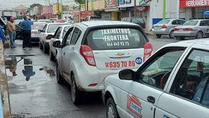 Les niegan prórroga a unidades de taxis en Frontera