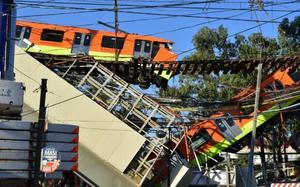 Concluye retiro de estructura colapsada de la Línea 12 del Metro