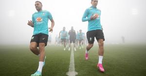 Brasil se entrena con un recuperado Gabigol y el creativo Everton Ribeiro